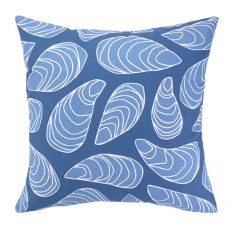 Mussel Printed Pillow