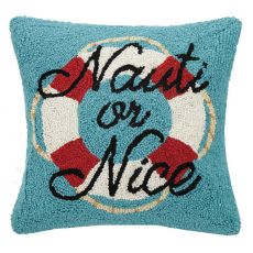Nauti or Nice Hook Pillow