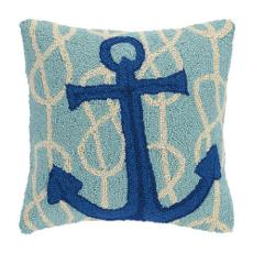 Nautical Knot Anchor Hook Pillow