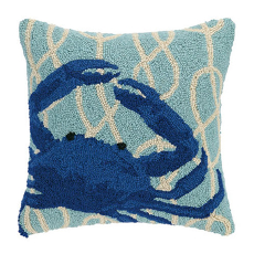 Nautical Knot Crab Hook Pillow