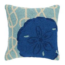 Nautical Knot Sand Dollar Hook Pillow
