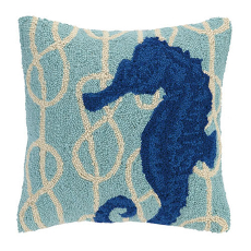 Nautical Knot Seahorse Hook Pillow