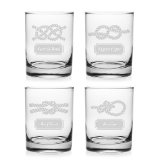 Nautical Knots DOR Glass Set