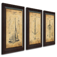 Nautical Sailing Vintage Patents