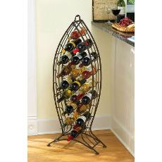 Nested Fish Wine Bottle Rack (set of 3)