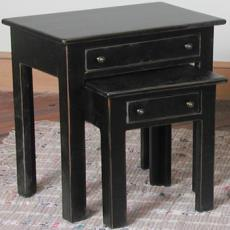 NESTING TABLES W/ DRAWERS