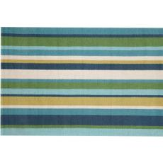 Newport Stripe Seaside Indoor Outdoor Rug