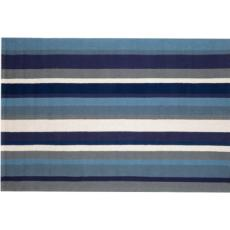 Newport Stripe Marine Indoor Outdoor Rug