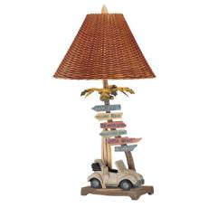 Which Way to Drive Lamp