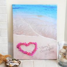 Personalized Ocean Waves Of Love Gallery