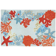 Ocean Scene Rug Indoor Outdoor Rug