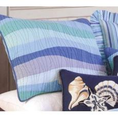 Ocean Wave Pillow Sham
