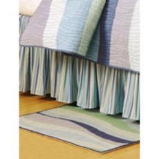 Ocean Wave Dust Ruffle Bed Skirt