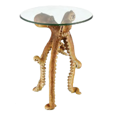 Sealife Octopus Accent Table