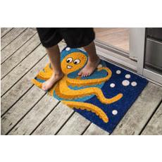 Octopus Handwoven Coconut Fiber Doormat