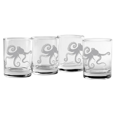 Kraken Dor Glass Set Of 4