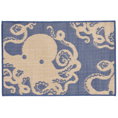 Octopus Marine Indoor Outdoor Rug