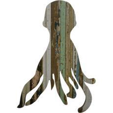 Octopus Wooden Plaque