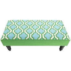 Ogee Hook Bench Blue/Green