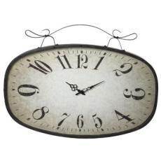 Distressed Scroll Clock