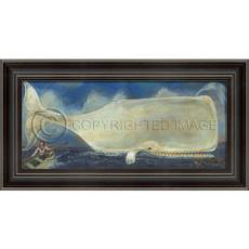 Moby Dick Your Time has Come Framed Art by Kolene Spicher