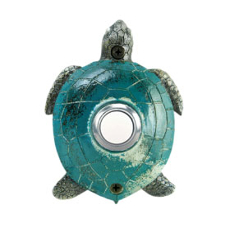 Painted Sea Turtle Doorbell