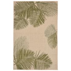 Terrace Palm Green Indoor Outdoor Rug