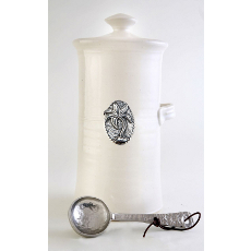 Palm Tree  Coffee Canister