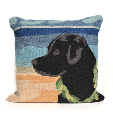 Paradise Boy Ocean Indoor Outdoor Pillow