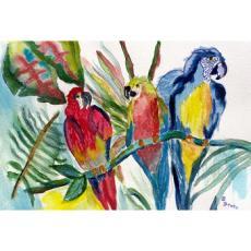 Parrot Family Door Mat