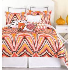Trina Turk Peacock Punch Comforter Set
