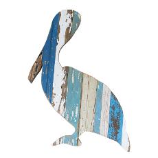 Pelican Wooden Plaque