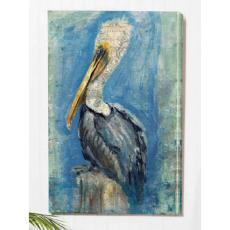 Brown Pelican Wall Canvas Art