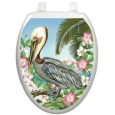 Pelican Toilet Seat Decoration