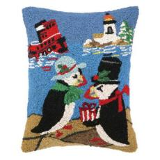 Beach Holiday Penguin Hook Pillow