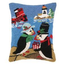 Beach Holiday Penguin Hook Pillow