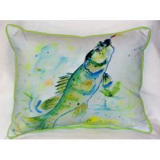 Yellow Perch Indoor / Outdoor Pillow