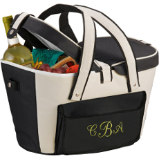 Personalized Insulated Picnic Basket Cooler