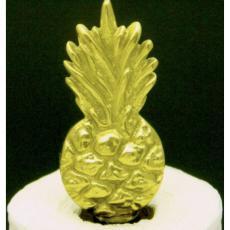 Pineapple Brass Paper Towel Holder