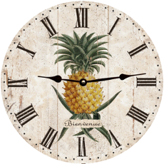 Pineapple Wall Mounted Clock