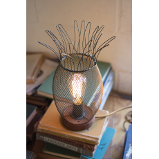 Metal Pineapple Lamp