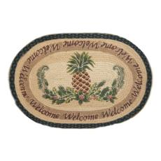 Pineapple Welcome Rug