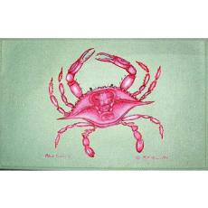 Pink Crab Door Mat