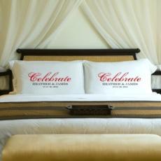 Wedding Couples Personalized Pillow Case Set