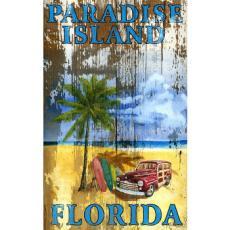 Beach Palm Wall Art