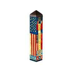 "Hometown Hero 20"" Art Pole 4 x 4"