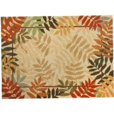 Painted Rainforest Indoor Outdoor Rug