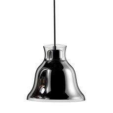 Bolero 1 Light Pendant In Chrome - Includes Recessed Lighting Kit