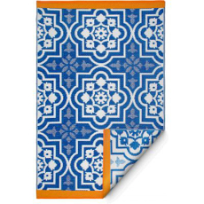 Puebla Blue Indoor Outdoor Rug