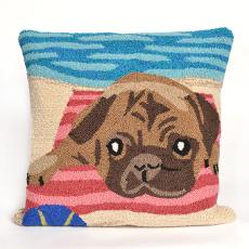 Pug Life Indoor Outdoor Pillow